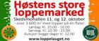 Høsten store loppemarked - 11. og 12. oktober