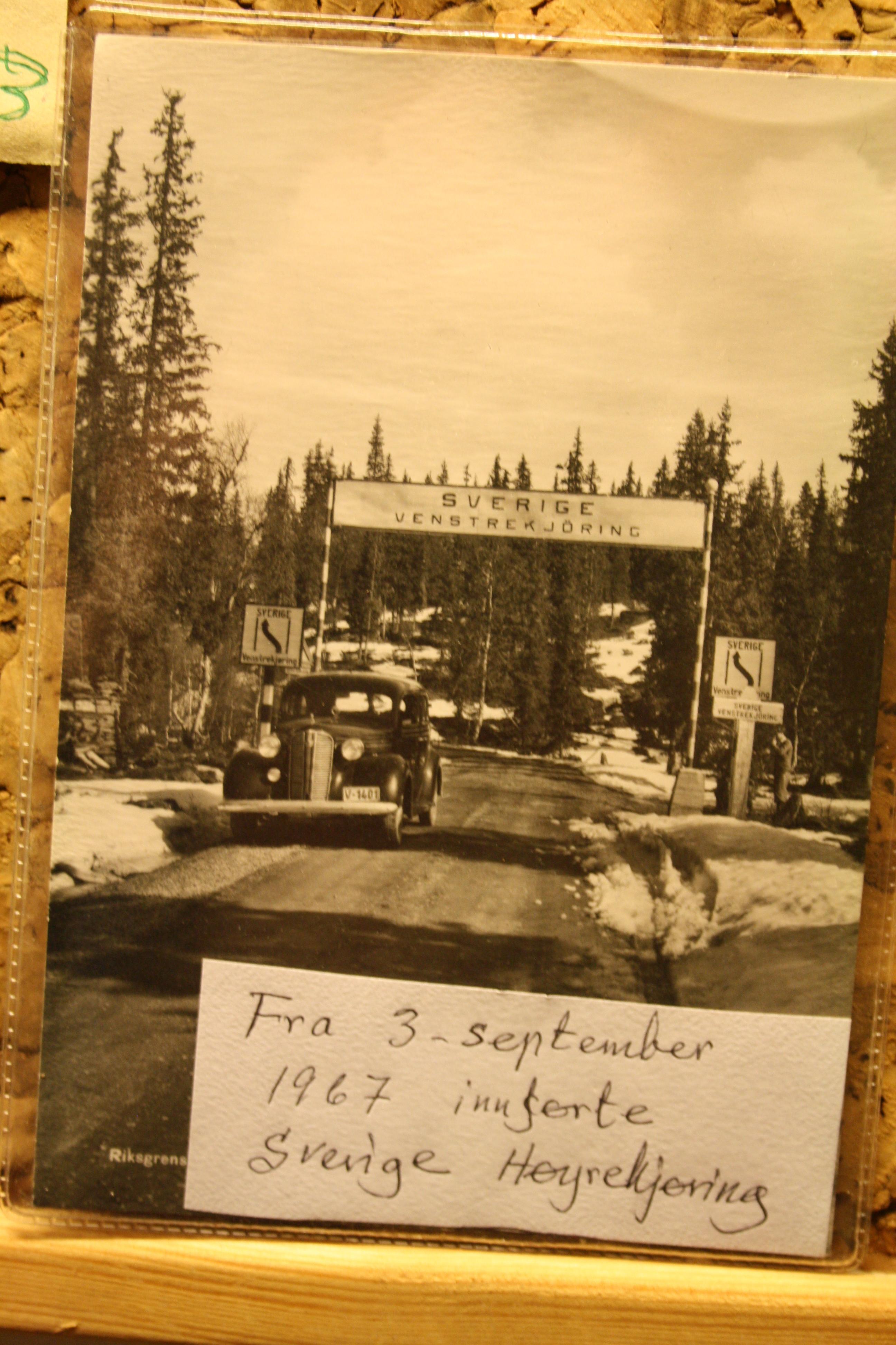 29 Fra 3 september 1967 begynte svenskene med høyr