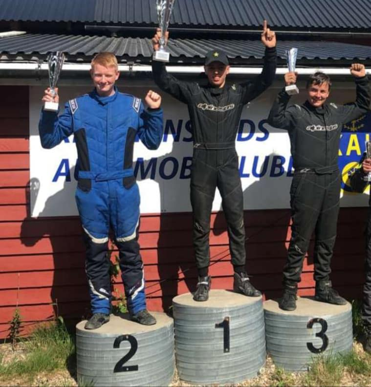 1. NM Runde i Crosskart