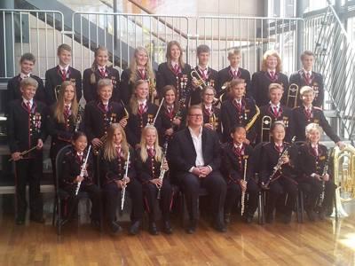 Orkdal skolekorps NM juni 2014.jpg