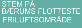 Stem på Bærums fineste friluftsområde - avsluttet
