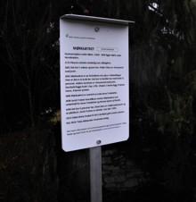 Bilder fra markering av det første skiltet til husmannsgruppa.