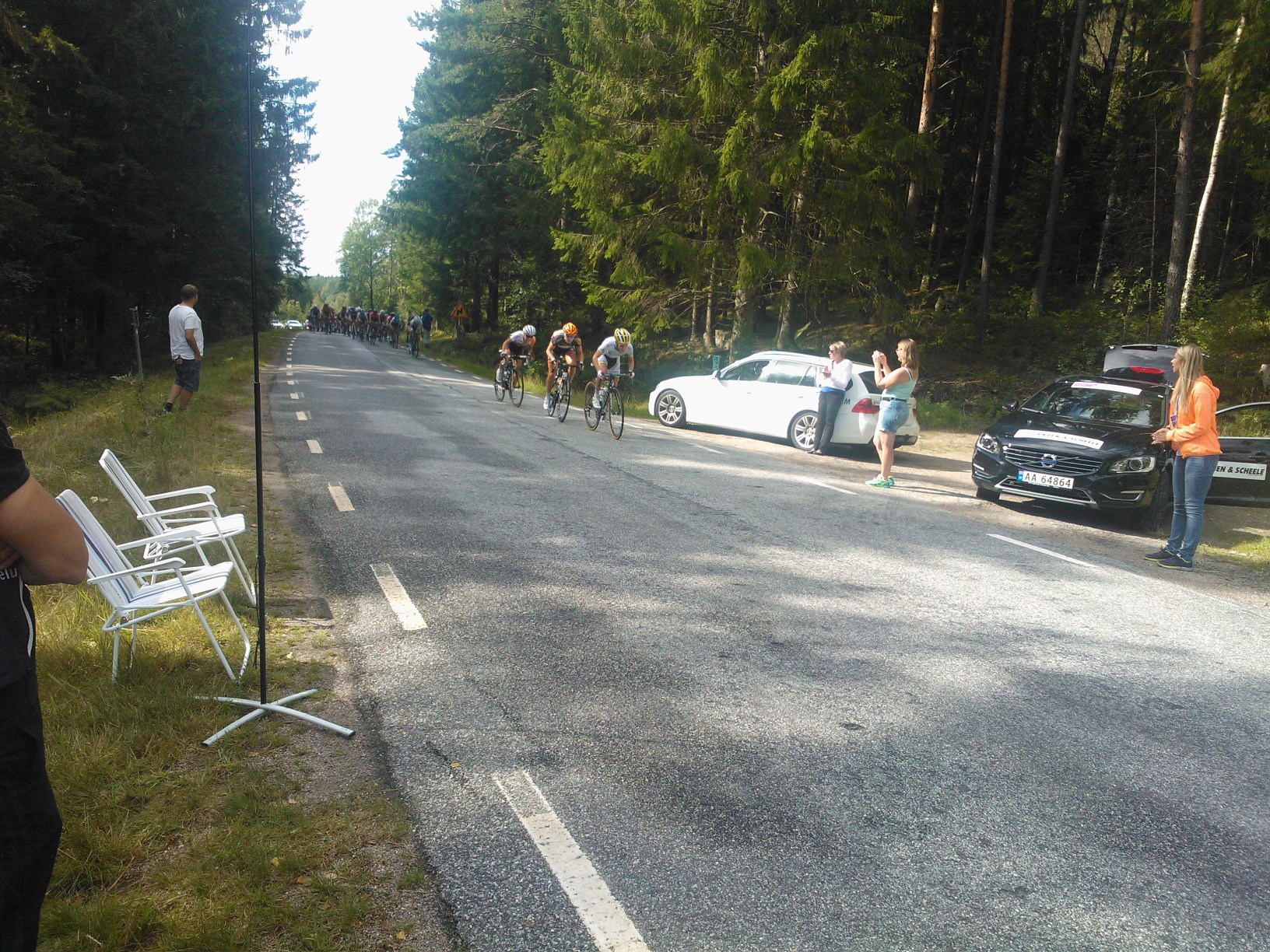 Ladies Tour of Norway, grensepassering.jpg