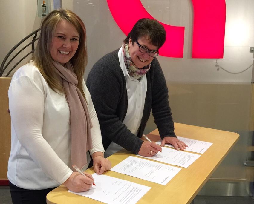 Fornyet sponsoravtale med LillestrømBanken