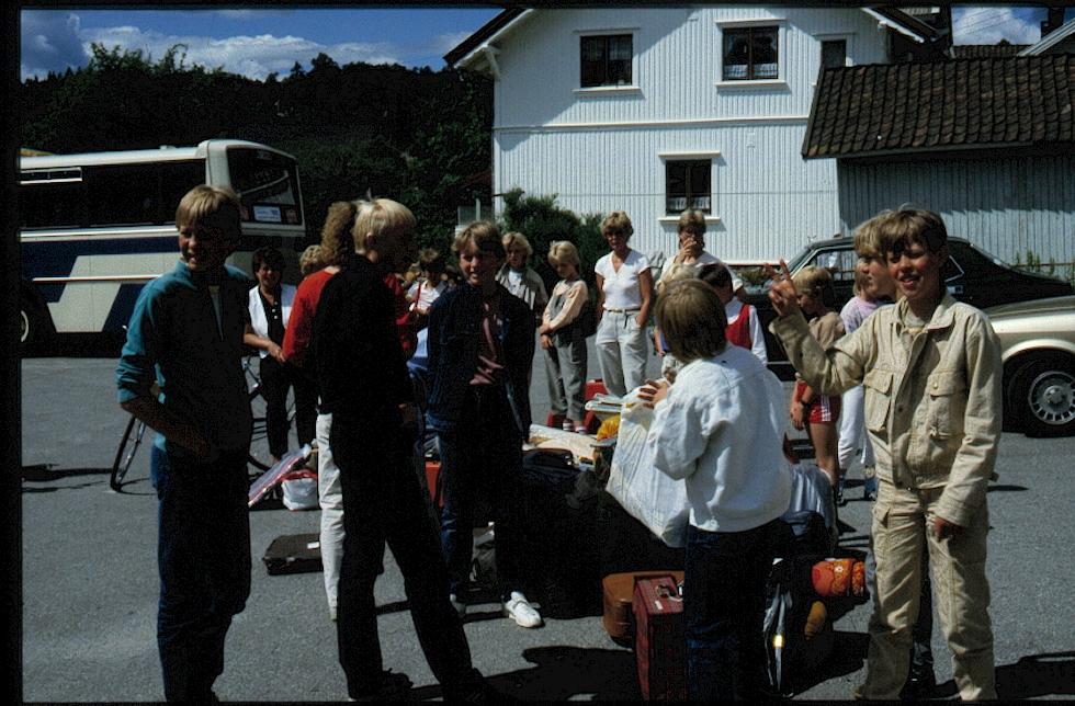 Her er bilder fra vår sommertur  til Gjøvik 15 til 17 juni 1984