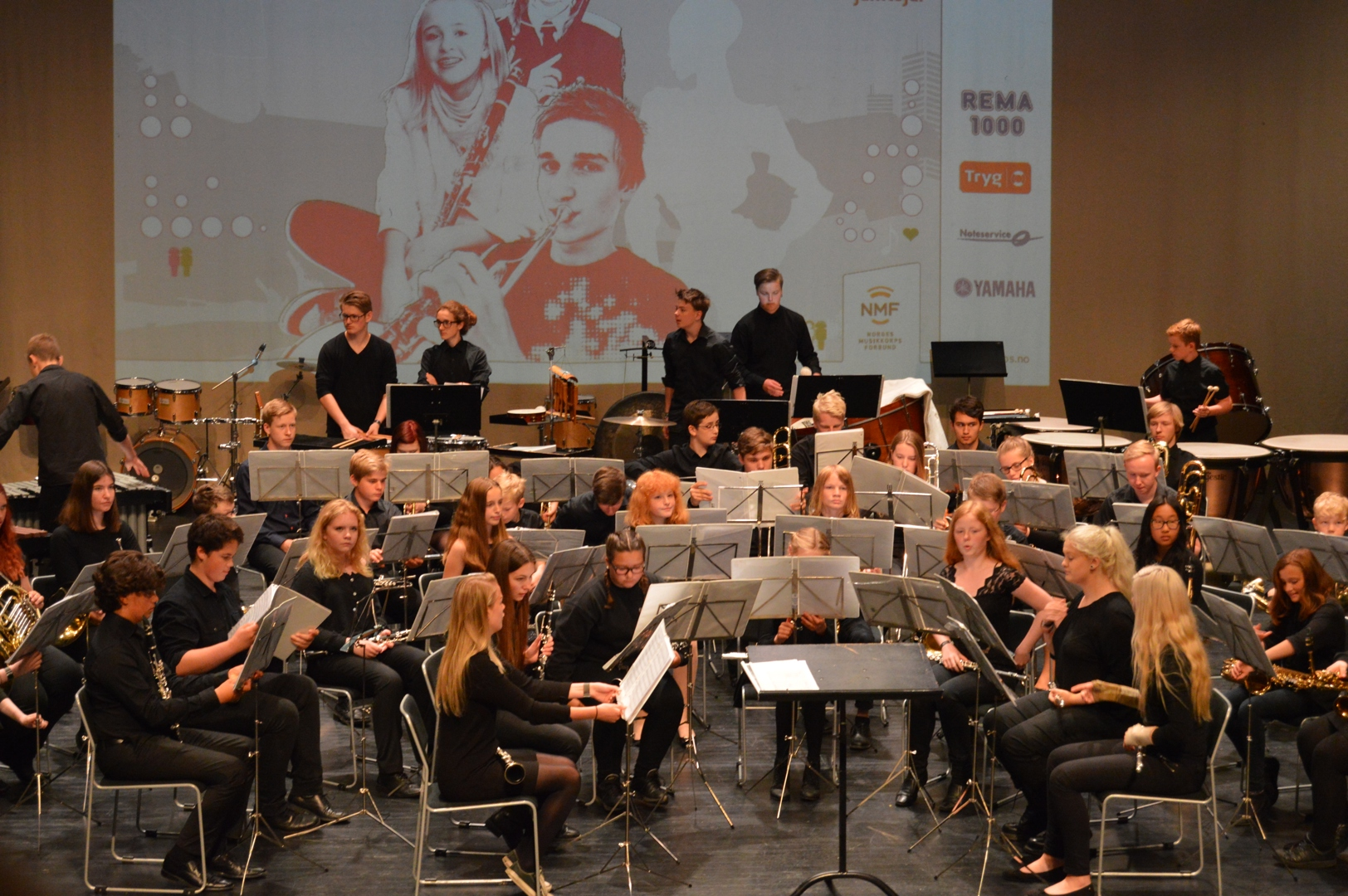 Tok 5. plass i NM Skolekorps - Larvik 2016