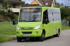 Vi får buss fra Båstad til sentrum
