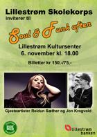 Soul & funk aften 6. november