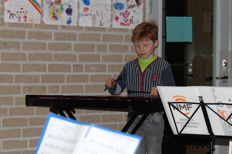 Aspirant- og juniorkorps har showkonsert 16.3.17