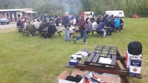 Vårskjelven blir arrangert av NVMC avd. Sunnmøre på Skoglund Camping i Valldal, i år med ca. 100 påmeldte.