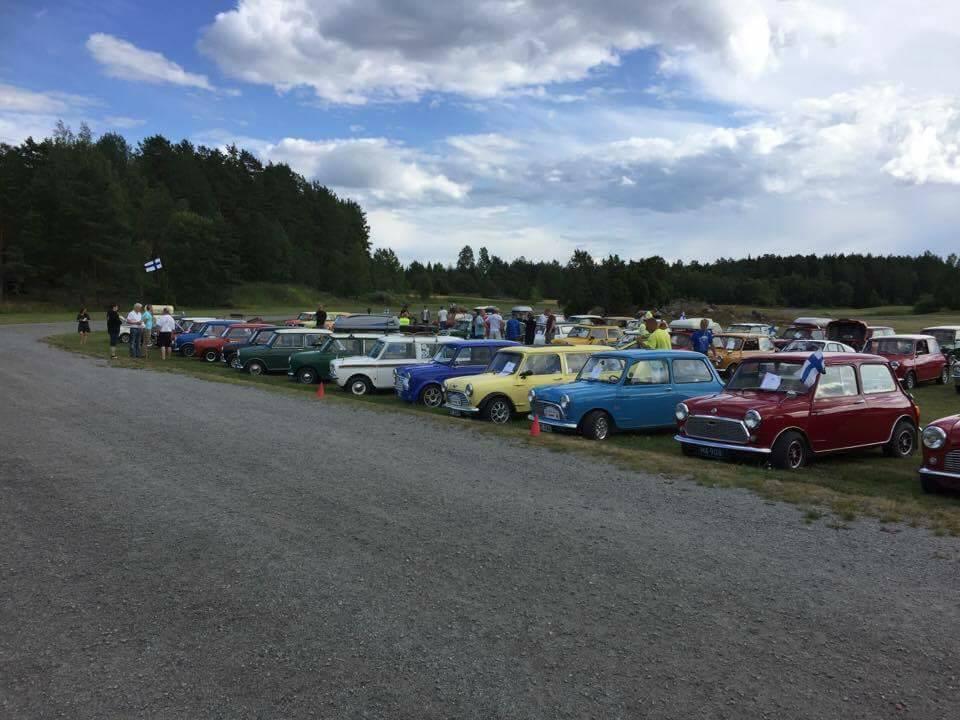 Nordic Mini Meeting 2017, Märsta Sverige Treffet var 28-30 juli 2017. Totalt deltok 103 minier fra Norge, Sverige,Danmark,Finland