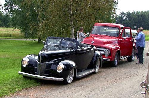 FORD V8-LØPET 2011  Foto; Helge Johansen