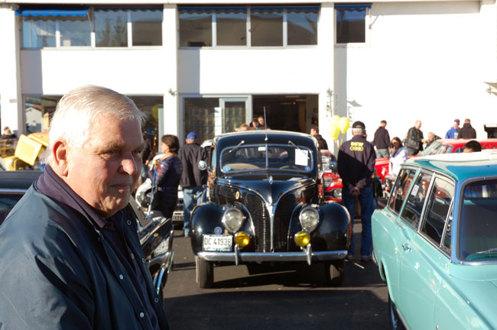 Lillestrøm 12/10 2013 Røhne og Selmer inviterte til hyggelig avslutning på veteranbilsesongen.   Foto Helge Johansen