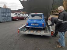 Bilder fra Norsk Mini Cooper Club sin stand, under Oslo Motor Show Lillestrøm 27/29 oktober 2017