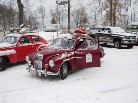 Bilder fra Vinterprøven 2006 Ålesund-Sunndalsøra-Oppdal-Dombås-Ålesund