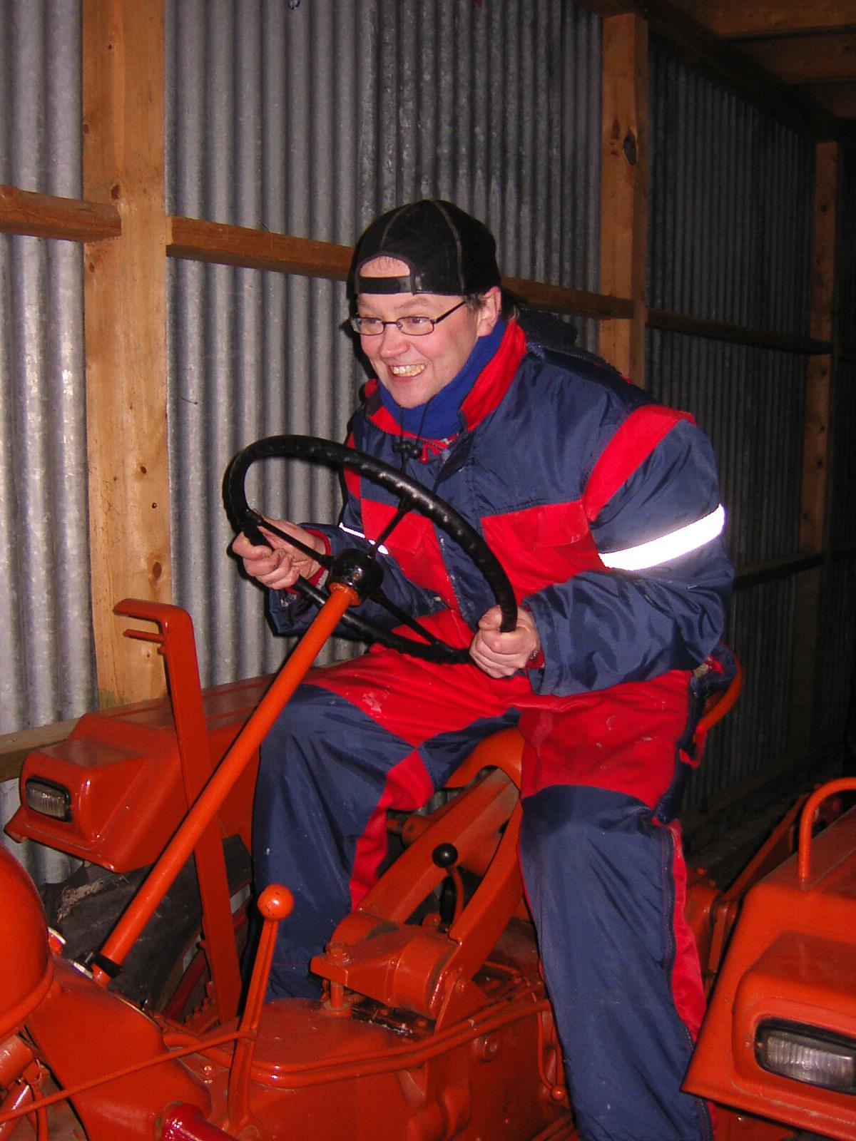 VINTERPRØVEN 2006 Fartsetappe Lidvar kjører Porche