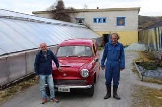 Brødrene Hans Petter og Arne Geir Gjerde