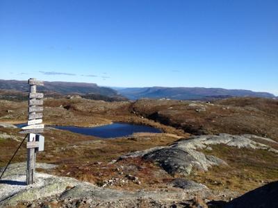 Blåfjell Mot Aurdalsfjorden
