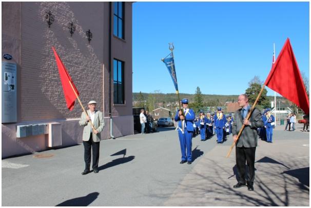 1.mai på Høybråten