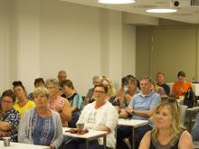 Tirsdag 5. Juni hadde vi sommeravslutning med mat og Foredragsholder Marco Elsafadi.