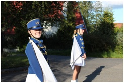 Konfirmasjonsspilling for Sigrid 1.september 2012