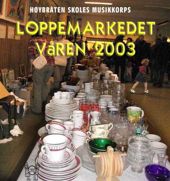2003 - Vårens loppemarked