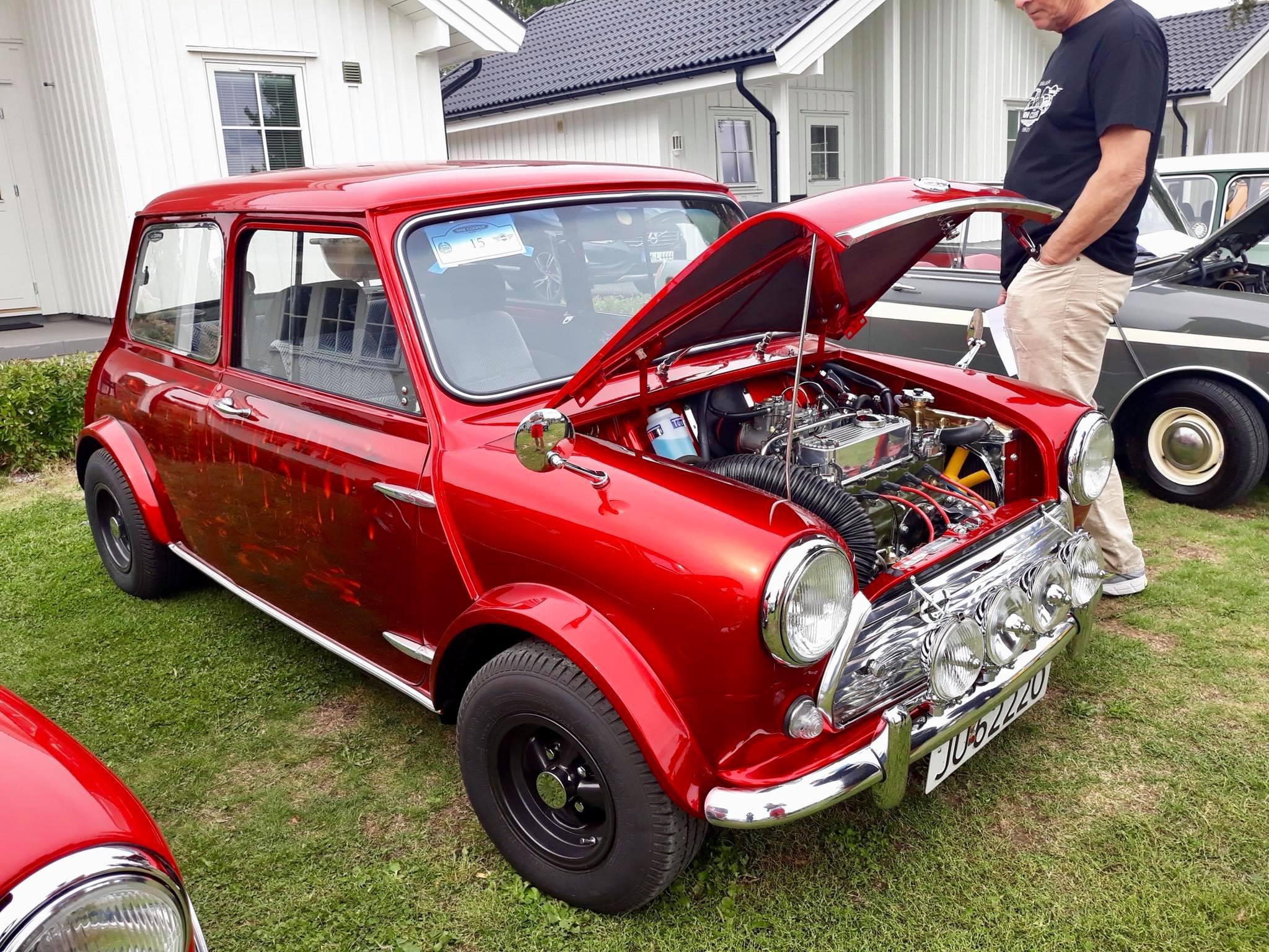 30 års Jubileumstreff Skarnes 9.-12. august 2018 Helle 77 biler var registrert inn, og over 140 personer.