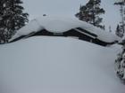 Snø på taket