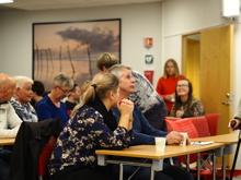 Vi fikk besøk av nevrolog Jana Midelfart Hoff som fortalte om hennes arbeid ved Haukeland. Vi fikk Stilt mange gode spørsmål og fikk gode svar tilbake
