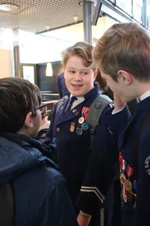Bilder fra korpsets deltagelse i TM for skolekorps, 3. divisjon med 8. plass av 18 deltagende korps. Foto: Anita Pawlak