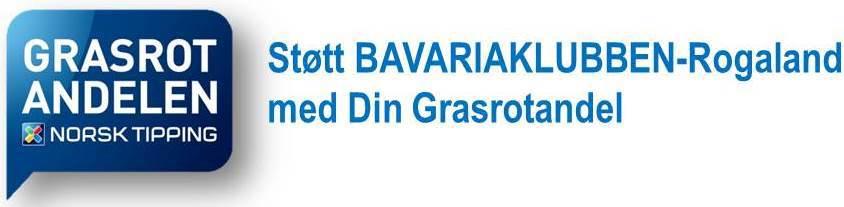 BAVARIAKLUBBEN-Rogaland ønsker DEG som grasrotgive