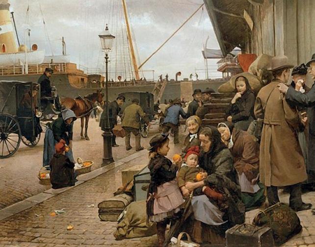 utvandrere-pa-larsens-plads_1890-av-edvard-peterse