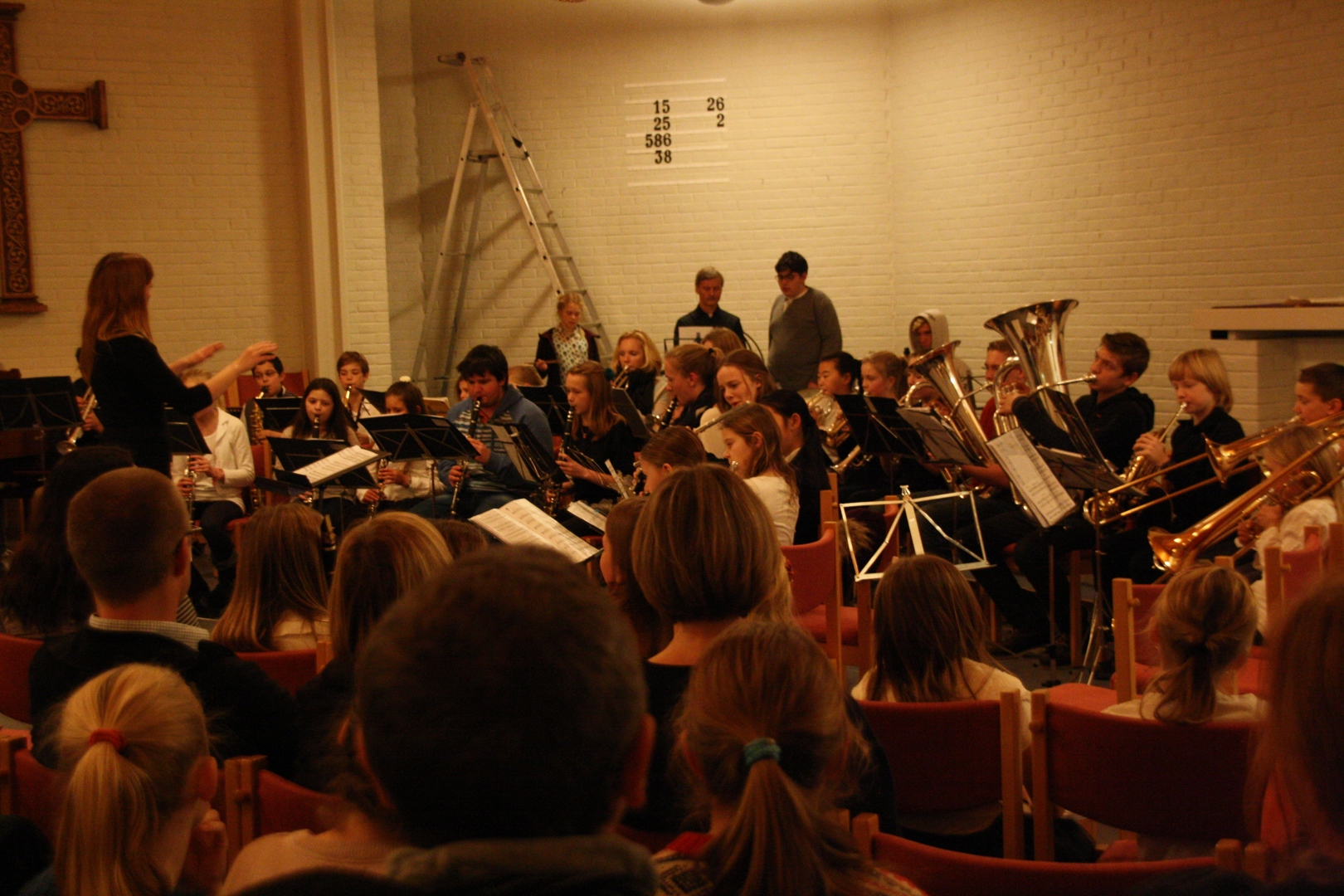 Ensemblemønstring i Voksen kirke