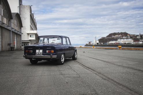 Foto: STIAN HOEL FOSSEN. Fra Alfanytt #2/2017 – magasin for Klubb Alfa Romeo Norge. Gjenbruk er kun tillatt med Alfanytt-redaktørens skriftlige samtykke.