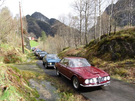 Foto: ERIK RYDSTRÖM. Fra Alfanytt #2/2015 – magasin for Klubb Alfa Romeo Norge. Gjenbruk er kun tillatt med Alfanytt-redaktørens skriftlige samtykke.