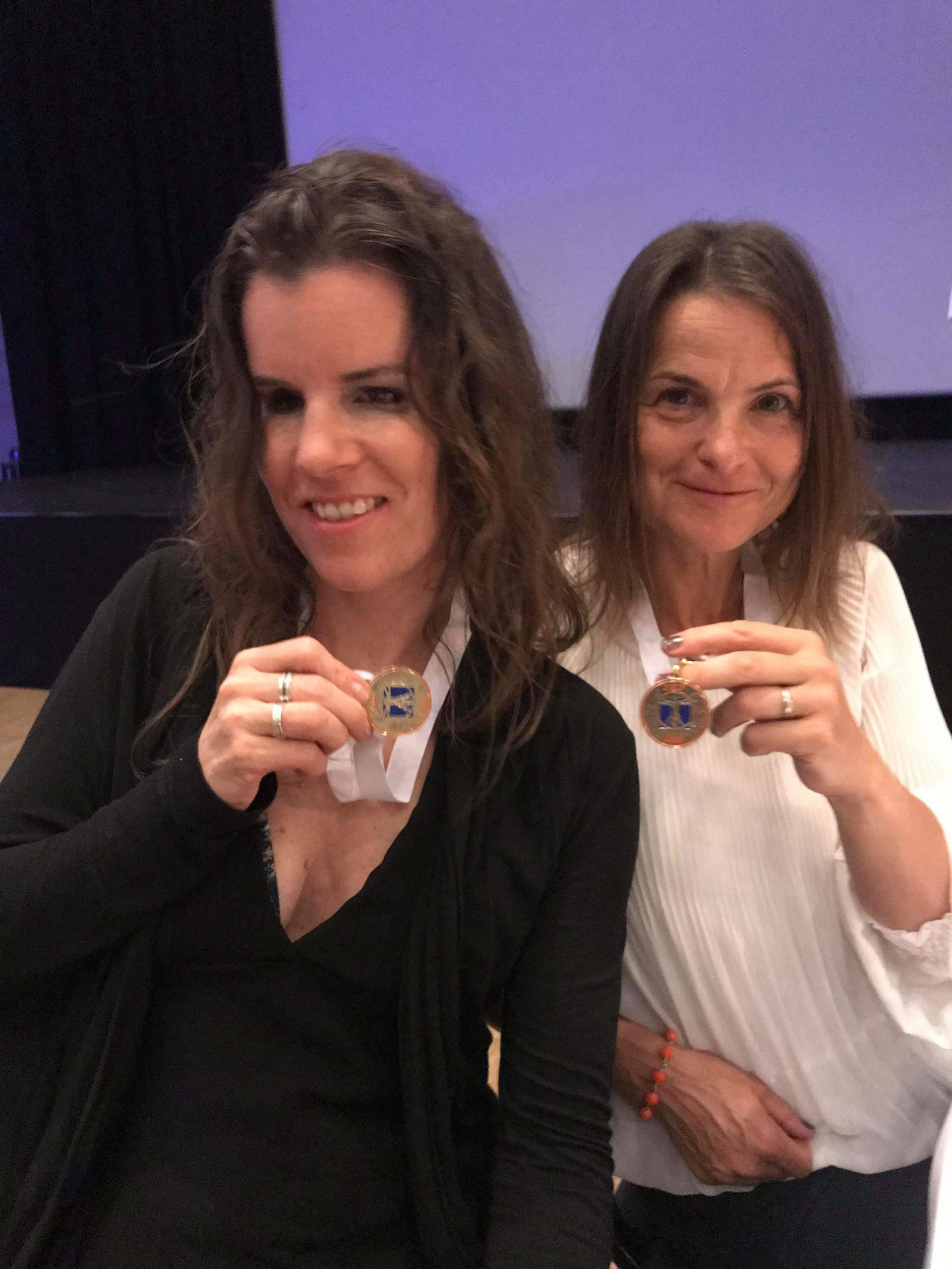 Gulmedaljevinnere Linda Borgen og Anita Paasche.jp