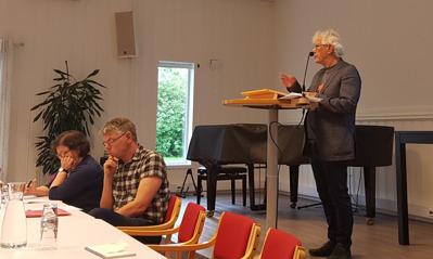 Tom O. Halvorsen, Ellen Lerberg og Tor Laache