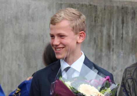 Konfirmasjonsspilling for Jørgen 5.9.2015