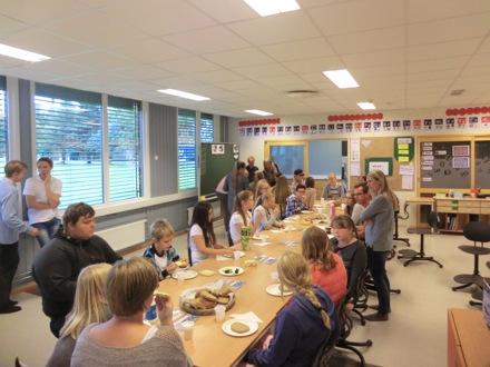 Bilder fra seminar i samarbeidsprosjektet Østre Toten skolekorps høsten 2015.