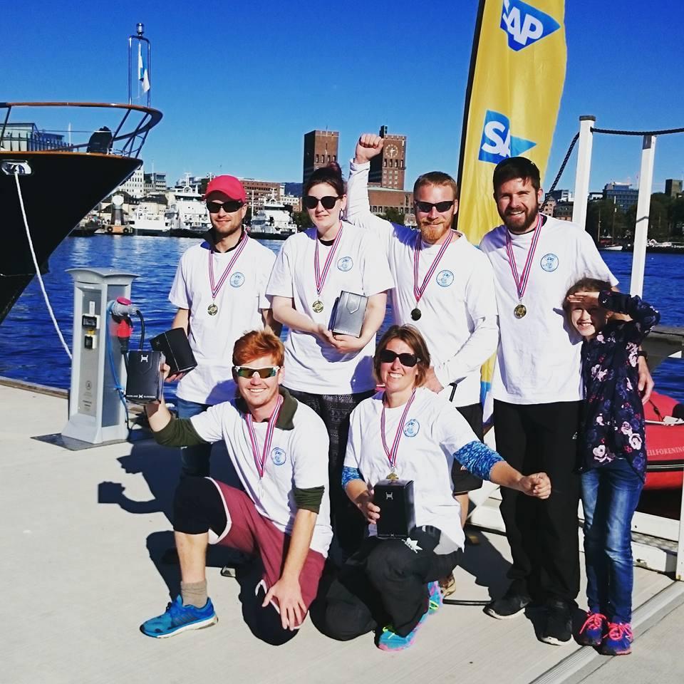 ÅS seilerne vant elite seilingen