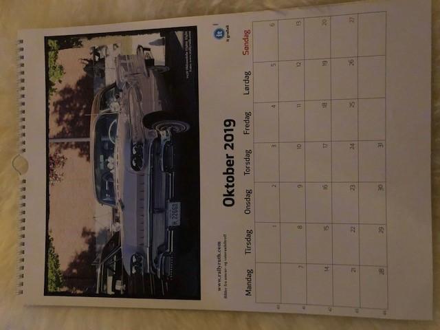 Kalenderbilde oktober 2019 Oldsmobile 1958 Karlsen
