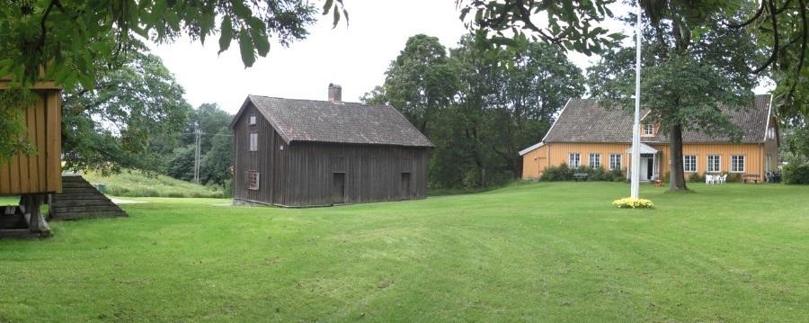 Huseby gård, Skedsmo Bygdemuseum.