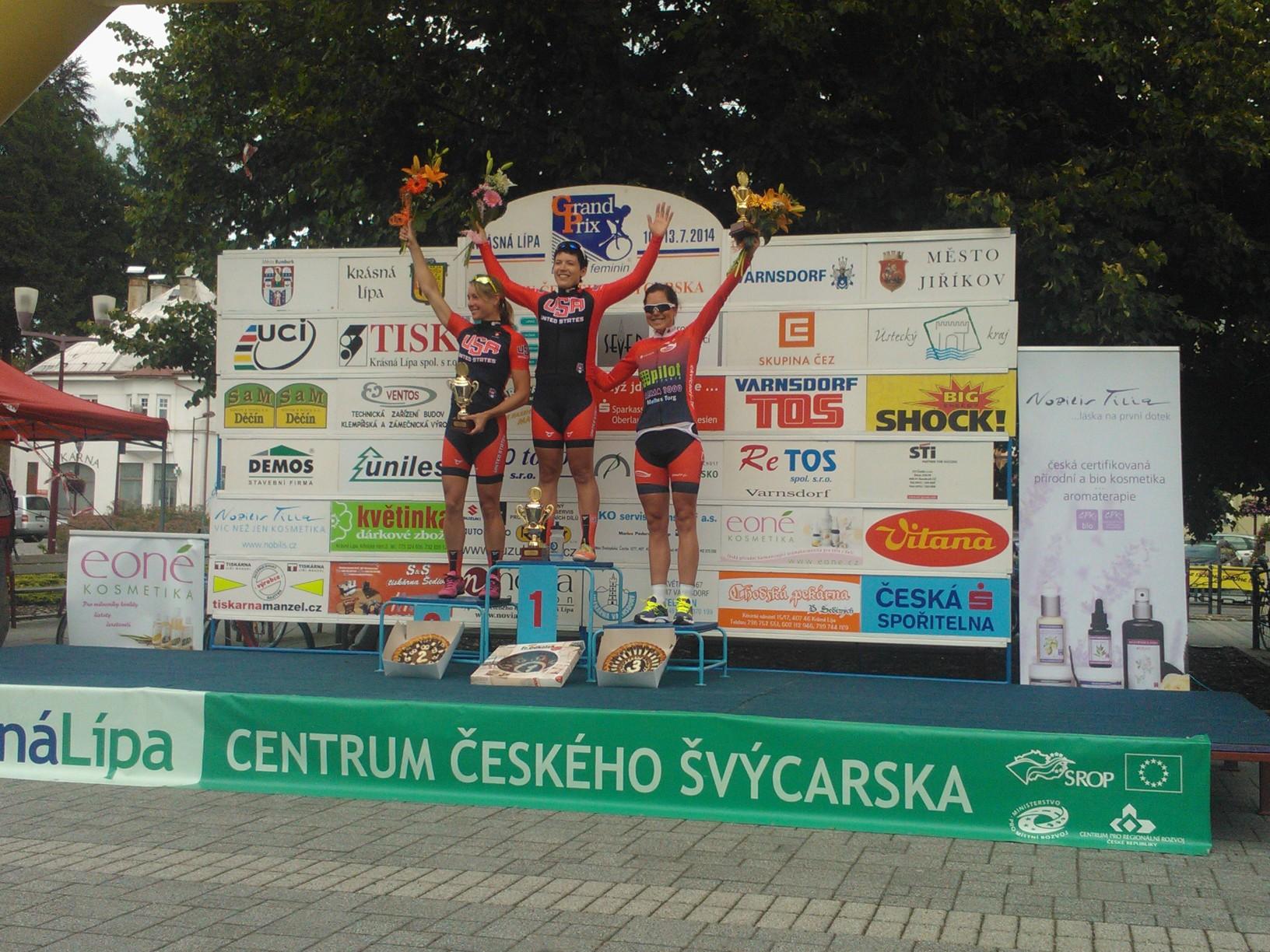 Tour de Feminin 2014. Ingrid 5.etappe.jpg
