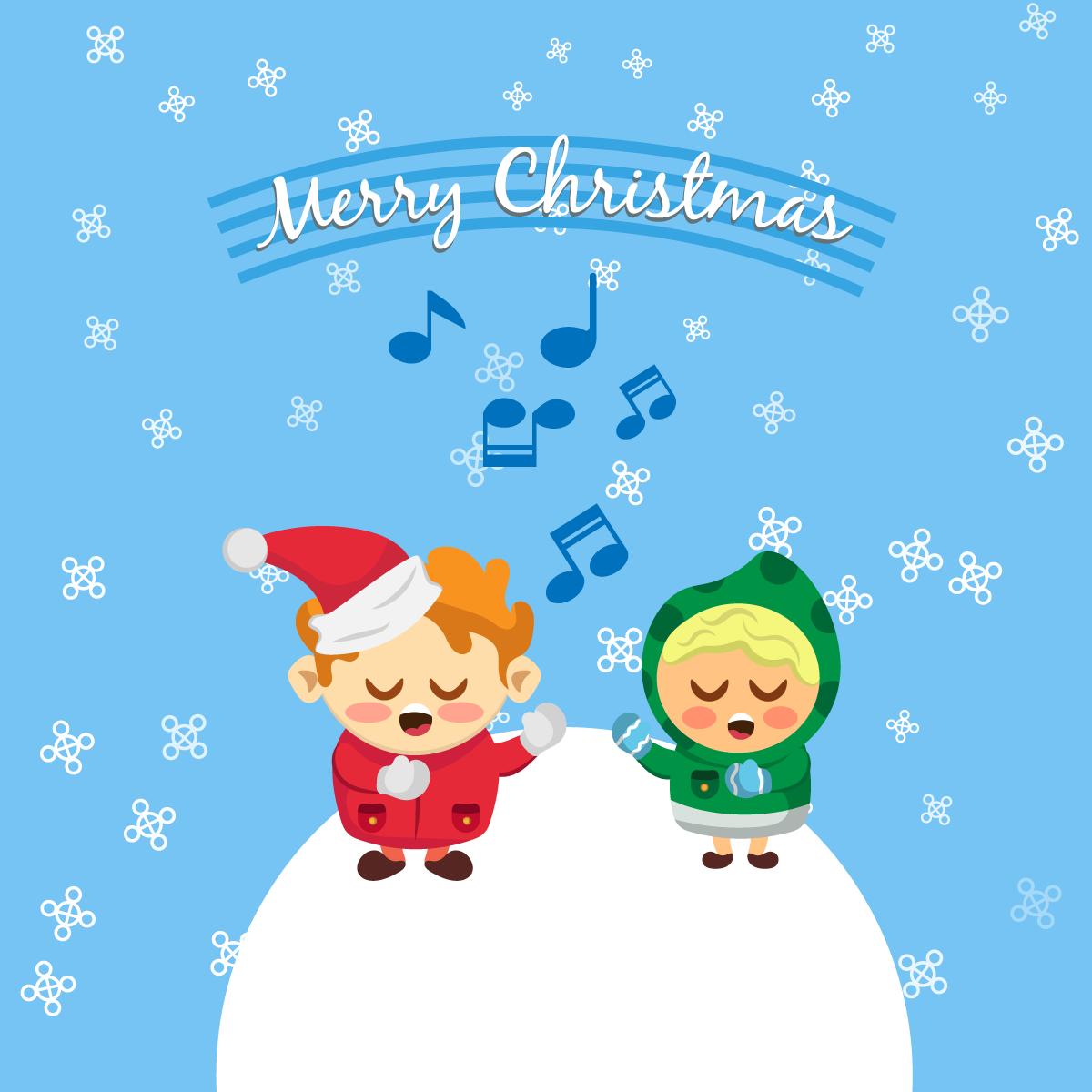 —Pngtree—children singing christmas carols_3708285