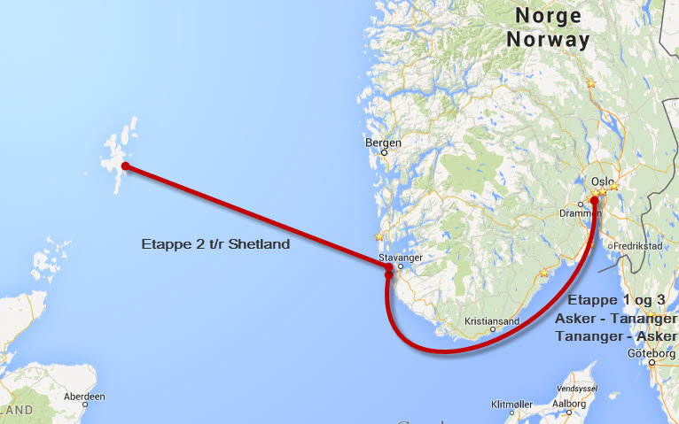 Invitasjon til Shetland