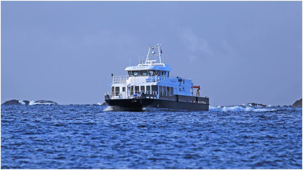 Besøke Espevær med båt