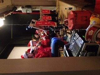 SAS nisseorkester spiller de herligste juletoner.
