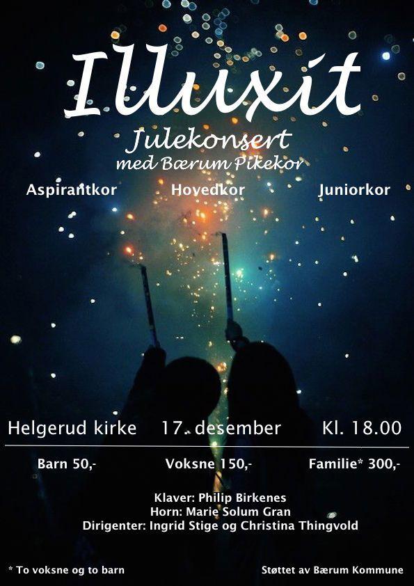 """Julekonsert """"Illuxit"""" torsdag 17. desember"""