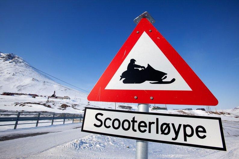 Uttalelse til oppstart av snøscootertraseer