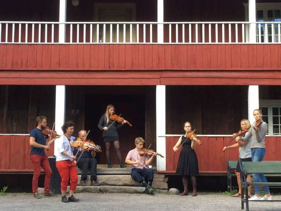 Bærum Spellemannslag på Norsk Folkemuseum